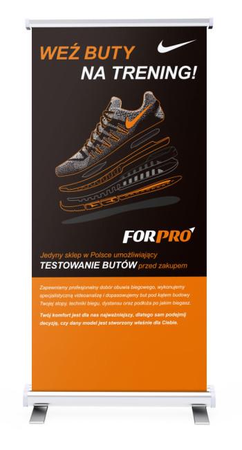 ForPro, Identyfikacja wizualna, corporate identity, Brand Design Studio, księga znaku, kreacja, produkcja, druk, rollup, sport