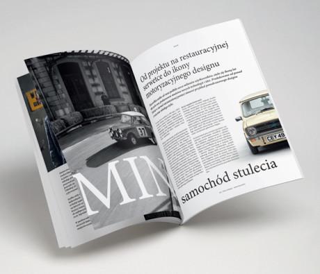 Premium Live Magazine Point of Design, skład, logoty, nadzór artystyczny nad powstającym materiałem, kreacja.co