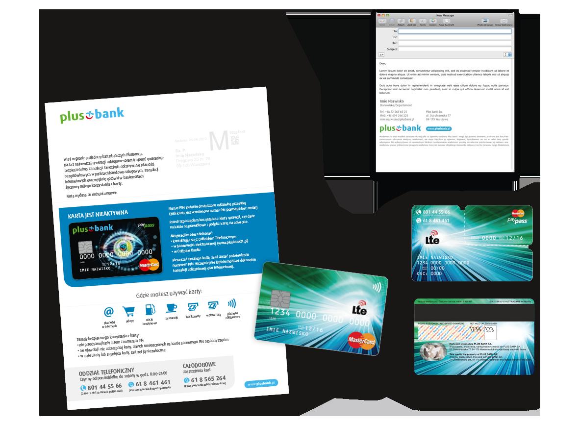 PlusBank, Identyfikacja wizualna, corporate identity, Brand Design Studio, kreacja