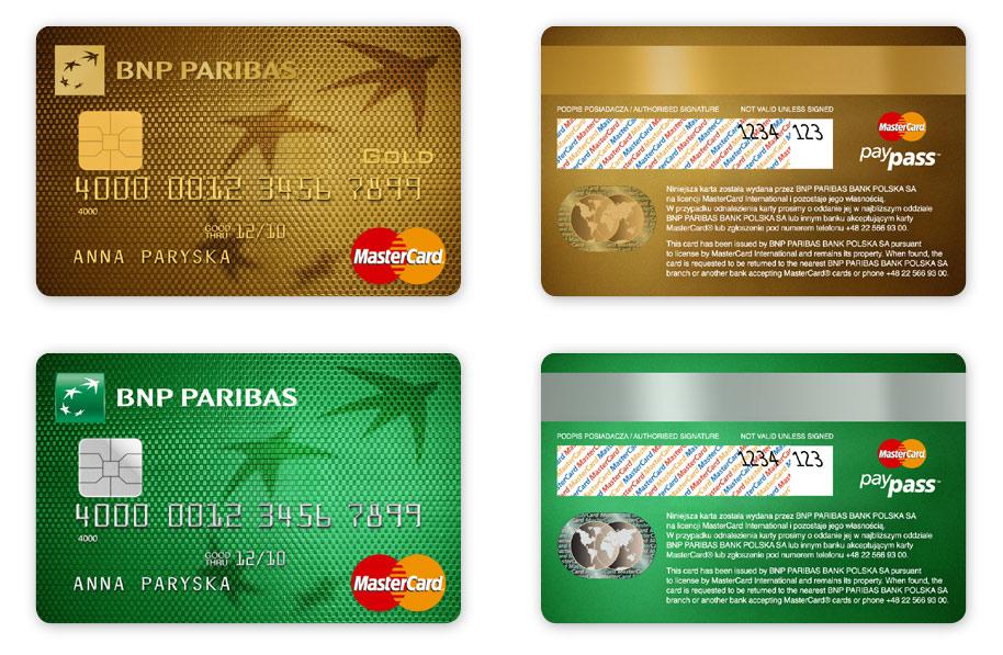 karty płatnicze MasterCard BNP Paribas Bank, projekt karty płatniczych, Brand Design Studio, Brand , kreacja