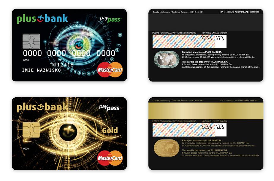 karty płatnicze MasterCard Plus Bank, projekt karty płatniczych, Brand Design Studio, Brand , kreacja