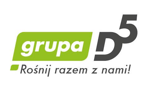 Grupa D5 - Brand Design Studio, projekt strony internetowej www, logo, corporate identity, księga znaku, kreacja