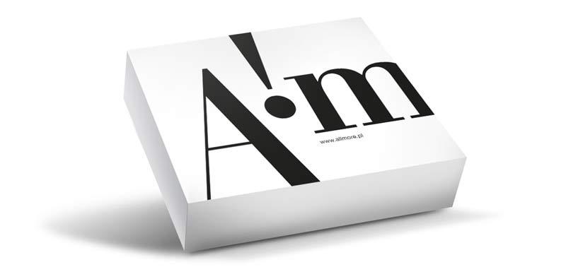 Allmore, branding, wizytówki, logotyp, opracowanie graficzne sklepu internetowego, projekt opakowań, kreacja.co, Brand Design Studio